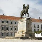 Het standbeeld van James, 4de Hertog van Braganza, Portugal Stock Afbeelding