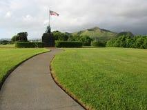 Het Standbeeld van Jima van Iwo - MCB Kaneohe Royalty-vrije Stock Foto