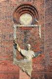 Het standbeeld van John Paul II van de paus Royalty-vrije Stock Foto