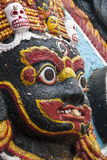 Het standbeeld van Kaalbhairav Royalty-vrije Stock Afbeelding