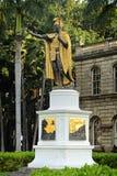 Het Standbeeld van Kamehameha van de koning stock foto