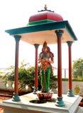 Het standbeeld van kaveri amman in Grote Kallanai wordt gesitueerd die royalty-vrije stock afbeelding