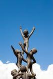Het standbeeld van kinderen op royalty-vrije stock fotografie
