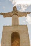 Het standbeeld van Lissabon Stock Foto