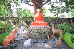 Het standbeeld van Lord Boedha Royalty-vrije Stock Afbeeldingen