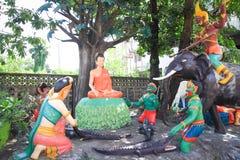 Het standbeeld van Lord Boedha Stock Foto's