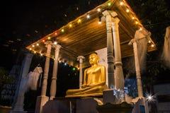Het standbeeld van Lord Boedha Stock Afbeeldingen