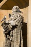 Het standbeeld van Lord Clarendon, de Universiteit van Oxford Stock Foto's