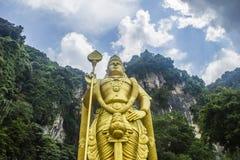 Het standbeeld van Lord Muruga Stock Fotografie
