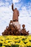 Het standbeeld van Mao 's Royalty-vrije Stock Afbeeldingen