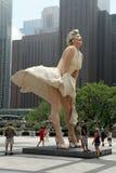 Het Standbeeld van Marilyn Monroe Royalty-vrije Stock Foto's