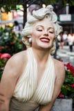 Het Standbeeld van Marilyn Monroe Stock Afbeeldingen