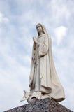 Het standbeeld van Mary van Vrigin Stock Afbeeldingen