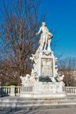 Het standbeeld van Mozart royalty-vrije stock foto's