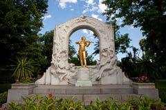 Het standbeeld van Mozart Stock Afbeelding