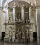 Het standbeeld van Mozes door Michelangelo stock afbeeldingen