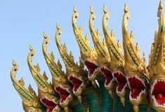 Het standbeeld van Naga stock afbeelding