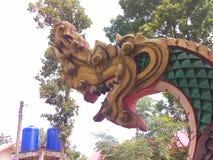Het standbeeld van Naga Royalty-vrije Stock Foto's