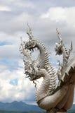 Het standbeeld van Naga Royalty-vrije Stock Fotografie