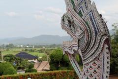Het standbeeld van Naga Royalty-vrije Stock Afbeeldingen