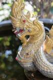 Het standbeeld van Naga Stock Foto's