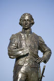 Het Standbeeld van Nelson, Portsmouth Stock Foto's