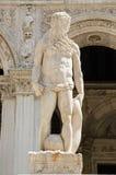 Het Standbeeld van Neptunus, Venetië Stock Afbeeldingen