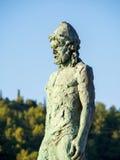 Het standbeeld van Odysseus stock afbeelding
