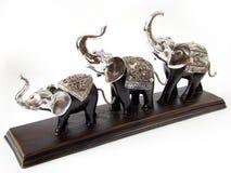 Het standbeeld van olifanten stock afbeelding