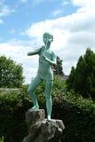 Het Standbeeld van Peter Pan, Kirriemuir, Schotland Stock Afbeeldingen