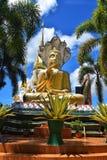 Het standbeeld van phang-Ngaboedha in Wat Suwannakhuha Ubon Ratchathani Thailand stock afbeelding