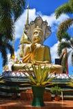 Het standbeeld van phang-Ngaboedha in Wat Suwannakhuha Ubon Ratchathani Thailand royalty-vrije stock foto