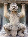 Het standbeeld van Pho van Wat Stock Afbeelding
