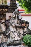 Het Standbeeld van Pho van Wat, Bangkok Thailand Stock Afbeeldingen