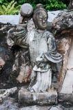 Het Standbeeld van Pho van Wat, Bangkok Thailand Royalty-vrije Stock Foto's