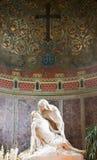 Het standbeeld van Pieta Royalty-vrije Stock Foto's