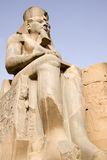 Het standbeeld van Ramses Royalty-vrije Stock Afbeelding