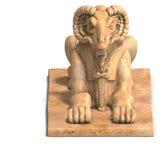 Het standbeeld van Ramses stock fotografie