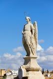 Het Standbeeld van Raphael van de aartsengel in Cordoba royalty-vrije stock foto's