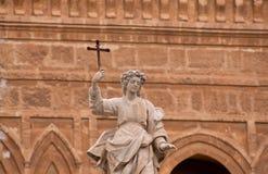 Het standbeeld van Rosalia van de kerstman in Palermo Royalty-vrije Stock Afbeelding