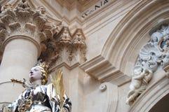 Het standbeeld van S.Lucia Stock Foto's