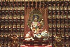 Het standbeeld van Samantabhadrabodhisattva stock foto's