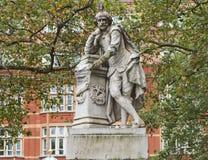 Het standbeeld van Shakespeare Stock Foto's