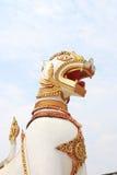 Het standbeeld van Singha stock afbeeldingen