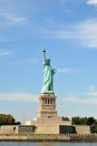 Het standbeeld van SLiberty, de Stad van New York, de V.S. Royalty-vrije Stock Afbeelding