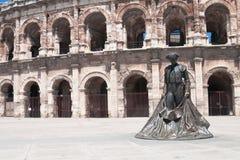 Het standbeeld van stierenvechter Royalty-vrije Stock Foto