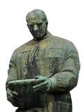 Het standbeeld van trekt Frano Bulic aan stock foto