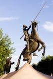 Het standbeeld van trekt Quijote aan Royalty-vrije Stock Foto's