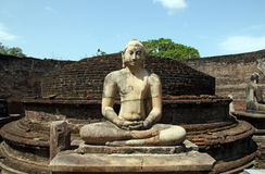 Het Standbeeld van Vatadageboedha Stock Afbeelding