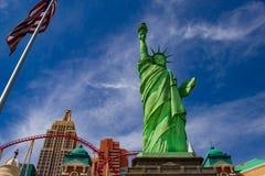 Het Standbeeld van Vegas van Las van Vrijheid stock foto's